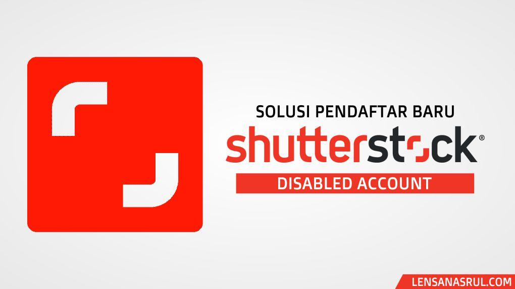 Solusi Gagal Daftar Kontributor Shutterstock