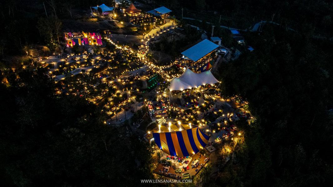 aerial view obelix hills